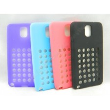 Samsung Galaxy Note 3 N9000 Silicone Cut out Hole Soft Case Cover