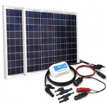 100W Solar Panel Power Charging DIY Kit