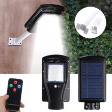 30W 60 LED Heavy Duty Outdoor Motion Sensor Solar Street Light