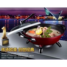 multifunction cooker pan non-stick skillet Chafing dish