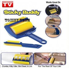 CLEAR STOCK!!Sticky Buddy Reusable Picker Cleaner Pet Hair Remover