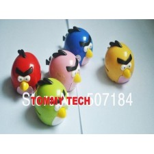 New style Clip crazy bird mini mp3 player support tf card slot