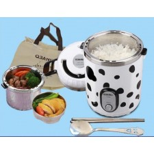 QBANG mini steamed rice cooker 1L small pot steamed
