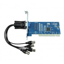 4 CH DVR Card Channels CCTV Security Equipment PCI Video