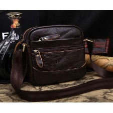 The new European and American big fashion trend unisex Genuine Leather