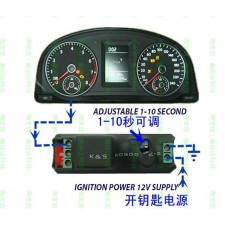 car stop failure lights drive instrument delay Meter dashboard ABS