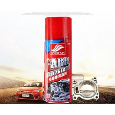 Powerful fuel injector throttle oil carbon cleaning agent