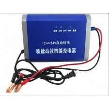 HEAVY DUT12V24V automatically converted truck car battery charger 10A