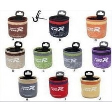 Bag receptacle cylinder vehicle mobile phone bag is hung with storage