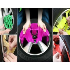 CRAZY OFFER!!!!car spray paint film Shred color Rubber can tear film
