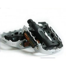 Ludwig mountain bike pedal foot and a half aluminum WELLGO Giant Bicycle