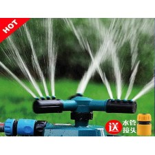 Automatic rotating nozzle lawn irrigation watering sprinkler garden
