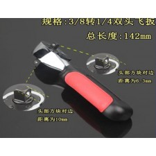Fast two-way ratchet wrench socket wrench 1/2 Xinhuanet fly