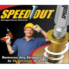 Speed Out Damaged Screw Extractor slip teeth removal tool