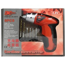 Multifunction charging lithium electric screwdriver Reversible drill