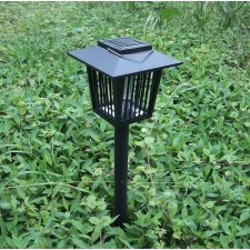 Outdoor Solar lawn lamp mosquito lamp 3LED two tranches of violet