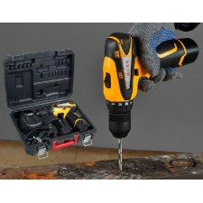 HEAVY DUTY12 V lithium rechargeable 2speed drill electric screwdriver