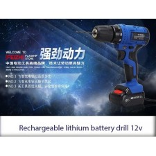 OFFER!!! Rechargeable lithium battery drill 12v lithium
