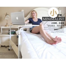 Portable easy-lift laptop table bed desk Land-use mobile lazy table