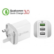 Quick Charge 3.0 Wall Charger QC3.0 USB Wall Charger Adapter UK Plug