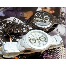 New style sinobi couple watch,High Quality Japan Movements with stainl