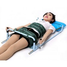 home lumbar disc traction frame protruding stretch belt