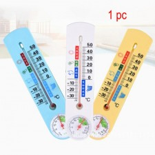 Wall-mounted Hanging Thermometer Humidity Analog Household