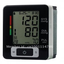 OEM Fully Automatic Digital Wrist Blood Pressure and Pulse Monitor
