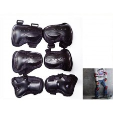 6pc/setSet Sports Safety kneepad elbow skating protective gear