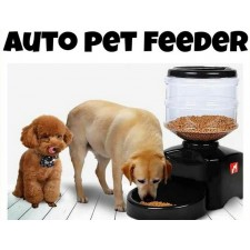 Automatic 5L Pet Feeder Voice Recording LCD screen