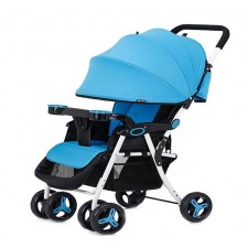 Ultra light portable folding baby stroller car can sit or lie
