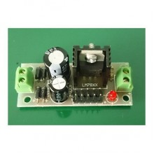 12V Regulated Power Supply LM7812 DIY Kit