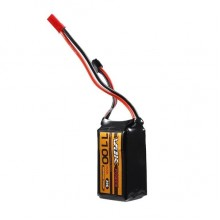 11.1V 1100mAH 3S 25C LiPo Rechargeable Battery