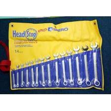SPERO 501-714BX-1 14PCS HEAD STOP COMBINATION WRENCH (8-24MM)