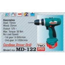 MELLO MD-122 Two Speed Cordless Drill