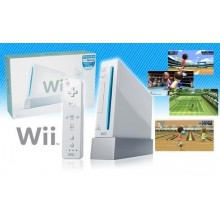 Nintendo Wii + Remote Nunchuk + 250GB HDD with 100 Games + Accessories