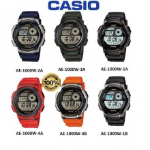 (2 YEARS WARRANTY) CASIO ORIGINAL AE-1000W SERIES STANDARD DIGITAL WATCH