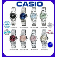(2 YEARS WARRANTY) CASIO LTP-1241D WOMEN FASHION WATCH ORIGINAL