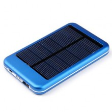 10000 mAh SOLAR POCKET Lithium polymer battery POWER BANK