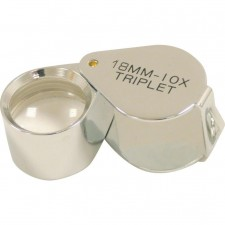 TRIPLET MAGNIFYING LOUPE 10X