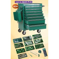 SATA 95107P12- 213 PCS TOOLS SET WITH 7 DRAWER ROLLER CABINET