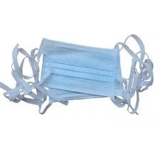 3 ply Tie On Surgical Disposable Face Mask 50pcs/box