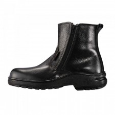 BLACK HAMMER BH2333 Mid cut Zip on Safety Shoes