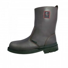 BLACK HAMMER BH4665 High Cut With Zip Safety Shoes