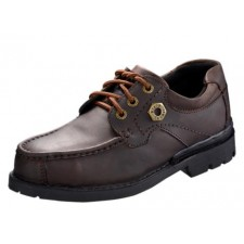 BLACK HAMMER BH4992 Men Safety Shoes Low Cut Mocassins With Lace Up