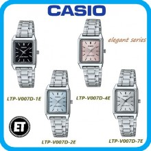 (2 YEARS WARRANTY) CASIO ORIGINAL LTP-V007D SERIES STANDARD ANALOG-LADIES WATCH