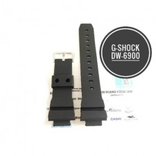Fit Casio G-Shock DW-6900 Replacement Watch Band. PU Quality. Free Repair Tool