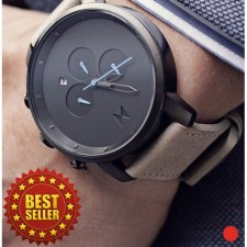 Men's Popular and Delicated Fashion Wrist Watch (Black&Blue)
