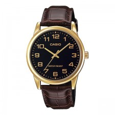 CASIO Men MTP-V001GL-1B Analog Watch | Simple Easy Concept