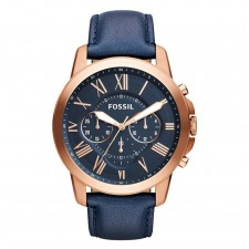 Fossil Men's Chronograph Grant Series Watch 44mm [2 years Warranty]